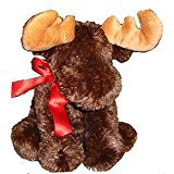"Marty the 10"" Soft Plush Moose"