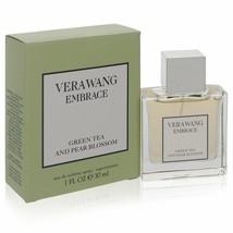 Vera Wang Embrace Green Tea And Pear Blossom Eau De Toilette Spray 1 Oz ... - $52.48