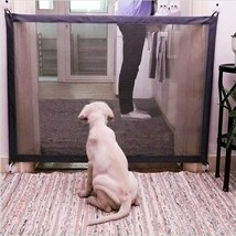 Mesh Magic Dog Gate Pet Gate For Dogs Safety Fence  Indoor Pet Dog Safety - $16.49+