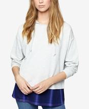 Sanctuary Layered Look Hoodie Size Small Sweatshirt Top - $79 - NWT - €8,41 EUR