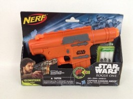 New In Box Nerf Disney Star Wars Rogue One Dart Gun Glowstrike Blaster w... - $24.70