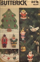 Butterick Christmas Skirt Ornaments New - $8.99