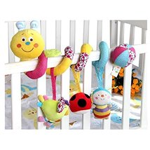 Yellow and Lovely Baby Toy & Bed Hanging & Cribs Decors & Bed Bell