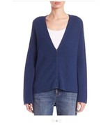Eileen Fisher  Knit Long Sleeve Wool Pull Zip Front Sweater Nwt Size XS ... - $114.24