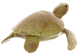 Hagen-Renaker Miniature Ceramic Turtle Figurine Sea Tortoise Swimming image 4