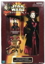 Star Wars Episode 1 Ultimate Hair Queen Amidala Collection Doll Hasbro 1998 - $24.75