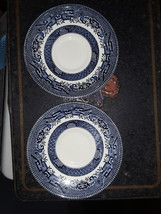 Blue Willow Saucers  - $21.99