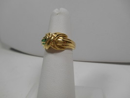 Tiffany & Co.18K Gold Signature X Kiss Cross Rare Wide Band Ring Sz 6 EUC - $785.69