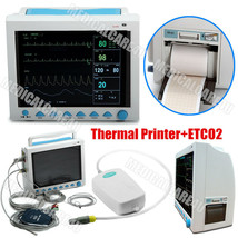 USA FDA ICU Patient Monitor 6 Parameters+CO2+Thermal Printer Vital Signs... - $740.52
