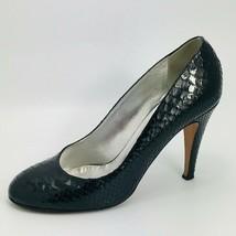 Coach Women's Kristina Closed Toe Classic Pumps Black Leather Size 9M - $39.59