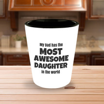Awesome Daughter Father's Day Gifts Shot glass | Fathers Day Gifts | Fat... - €8,61 EUR
