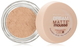 Maybelline New York Dream Matte Mousse Foundation, Porcelain Ivory, 0.64... - $10.93