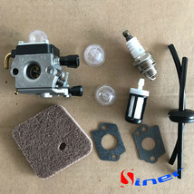 Carburetor Kit for Stihl FS45L FS55C FS55T FC55 HS45 FS310 HL45 FS74 FS7... - $12.07