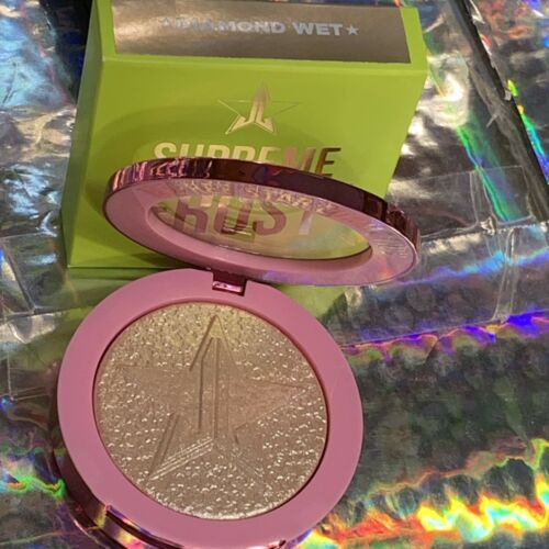 NEW IN BOX Jeffree Star Cosmetics *Mint* Supreme Frost Diamond Wet Bling