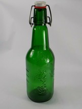 Vintage GROLSCH BEER BOTTLE Green w/ SWING TOP LID 16/15 - $6.92