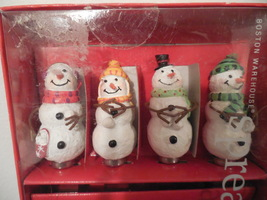Cheese Spreader Set With Snowman Handle, Christmas, Snowmen Cheese Spreader - $15.00