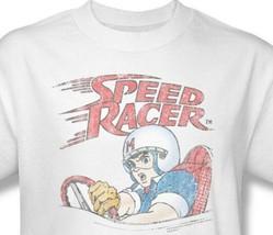 Speed Racer T-shirt retro 1980s Saturday Morning cartoon 100% cotton tee SPD100 image 1