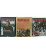 The Sopranos The Complete First Third Fourth Seasons DVD Sets Sealed - $24.65