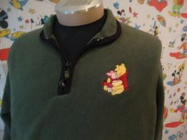 Walt Disney World Winnie The Pooh Fleece Pullover Jacket Sz XL - $21.47