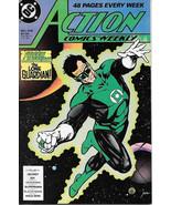 Action Comics Comic Book #608 Superman DC Comics 1988 NEAR MINT NEW UNREAD - $4.99