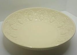 "Extra Large 15"" Serving Bowl Acorns and Laurel Design Bloomingdale's UNUSED - €33,96 EUR"