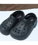 Crocs Unisex Ralen Lined Clog Slip On Shoe Black Women's 8 Men's 6 - $39.59