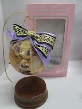 "Mattel 1997 Evening Majesty  Barbie 4"" Decoupage Ornament NEW IN BOX! - $12.82"