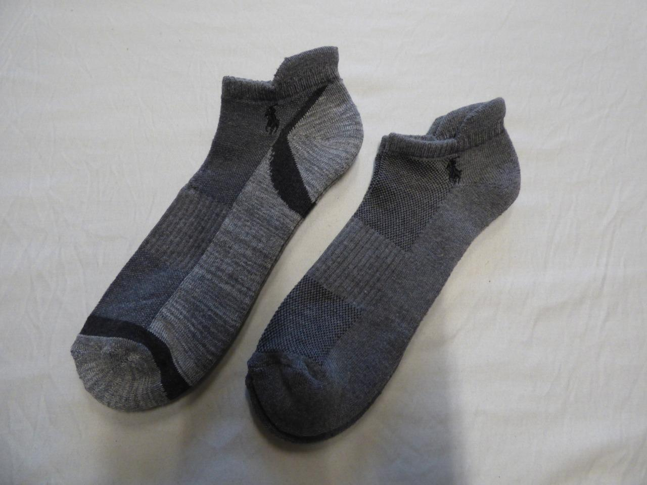 Polo Ralph Lauren 2 Pairs of Classic Sport Arch Support Men's Socks, Gray
