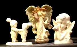 RDecor Come Skate with me D56 - Angel and girl figurines AA-191731  Collectible image 1