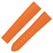 Omega 9800018 20mm Orange Vulcanized Rubber Band for 45mm Planet Ocean Models - $399.00