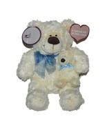 Barnabas Teddy Bear & Baby Cream Plush Lovey Mary Meyer Stuffed Animal Toy - $29.67
