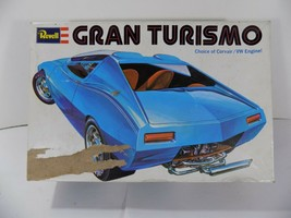 1972 REVELL Model H-1321 GRAN TURISMO CUSTOM CAR Corvair VW Engine Box J... - $9.89