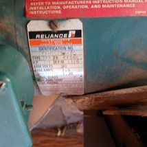 INDUSTRIAL GEARBOX RIG - RELIANCE MOTOR 1725 RPM - DRIVE ALL  - FALK INDUSTRIAL image 6