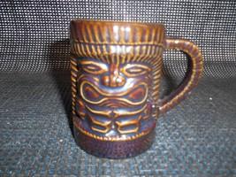 Old Vtg ORCHIDS OF HAWAII TIKI COFFEE CUP Mug Drink Glass Hawaiian Memor... - $19.79