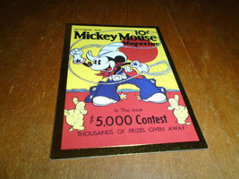 Skybox Disney Premium Cards Mickey Mouse Mag Cover #73 1995 - $0.99