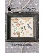 A Little Quaker cross stitch chart Heartstring ... - $9.00
