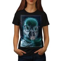 Hipster Duck Cool Funny Shirt Duckling Bird Women T-shirt - $12.99