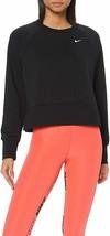 Nike Dri-FIT Women's Long-Sleeve Yoga Training Top Black Size Medium AQ0... - $49.49