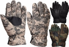 Thermoblock Tactical Insulated Hunting Thick Military Winter Gloves - $11.99