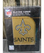 New Orleans Saints Playing Cards Official NFL Licensed New Sealed - $12.99