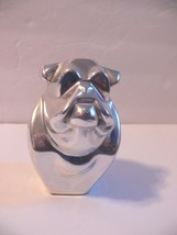 Bull Dog Silver Paper Weight cc - $24.99
