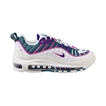 Nike Air Max 98 Women's Shoes Bright Spruce-Fuchsia-Voltage Purple CI3709-301 - $170.00