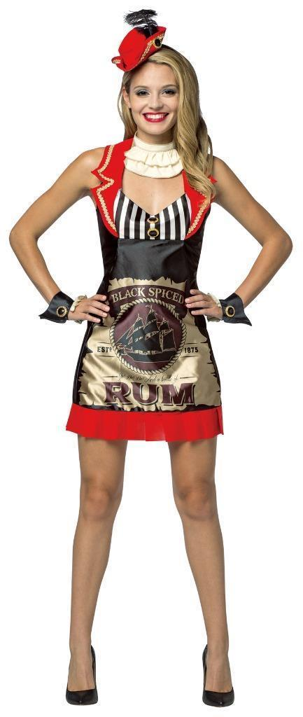 Rum Womens Dress Costume Adult Alcohol Halloween Party Unique GC7597