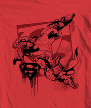 Ro batman robin wonder woman aquaman movie film graphic tee for sale online cotton red  thumb200