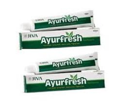 100% Ayurvedic | Jiva Ayurfresh Toothpaste 100 g x 2 | natural antibacterial - $16.32
