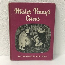 MR. PENNY'S CIRCUS MARIE HALL ETS Vtg 1961 Weekly Reader Children's Book - $19.79