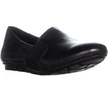 Born Cadet Slip On Comfort Flats, Black, 9.5 US / 41 EU - $41.27
