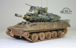 US Army AM-551 Sheridan Light Tank Vietnam war 1:35 Pro Built Model - $321.75