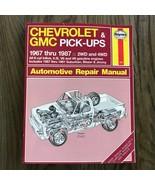 Chevrolet & GMC Pick-Ups  1967-1987  Haynes Repair Manual, Service Guide... - $11.83