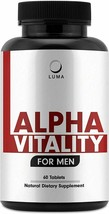 Alpha Vitality Natural Male Enhancing Pills Testosterone Booster Increase Size - $19.99
